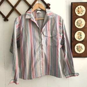 1970's Button Down Blouse